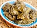 Рецепта Сарми от лапад с ориз и кайма